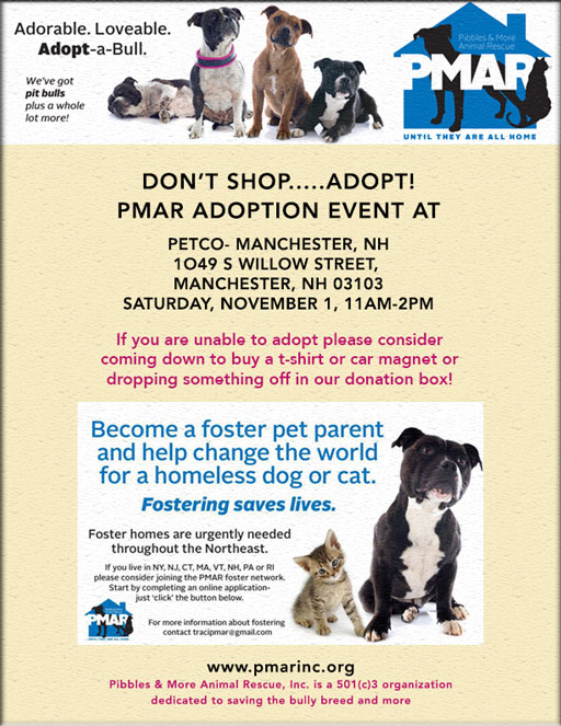Dog Adoption Events In Nh